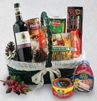 Mr. & Mrs. Santa's Favorite Hamper