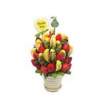 Apples & Strawberries - By Fruits in Bloom