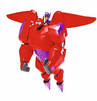 Big Hero 6 The Series Flame-Blast Flying Baymax with Hiro Action