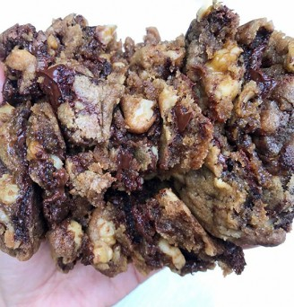 Better Batter Cookies with Walnuts