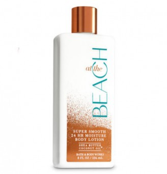 AT THE BEACH Super Smooth Body Lotion by Bath and Body Works