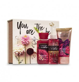 A THOUSAND WISHES Mini Box Gift Set by Bath and Body Works
