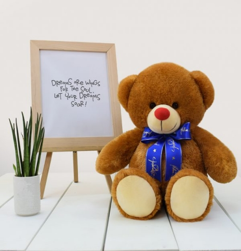 Casey Bear Stuffed Toy Medium