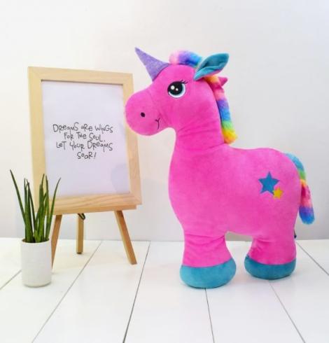 Tiffany Pink Unicorn Stuffed Toy